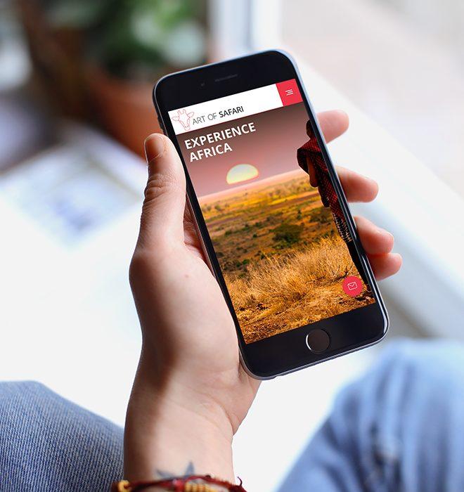 Art of safari mobile responsive web design